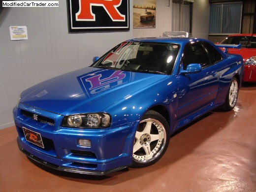 1999 Nissan Skyline GTR R34