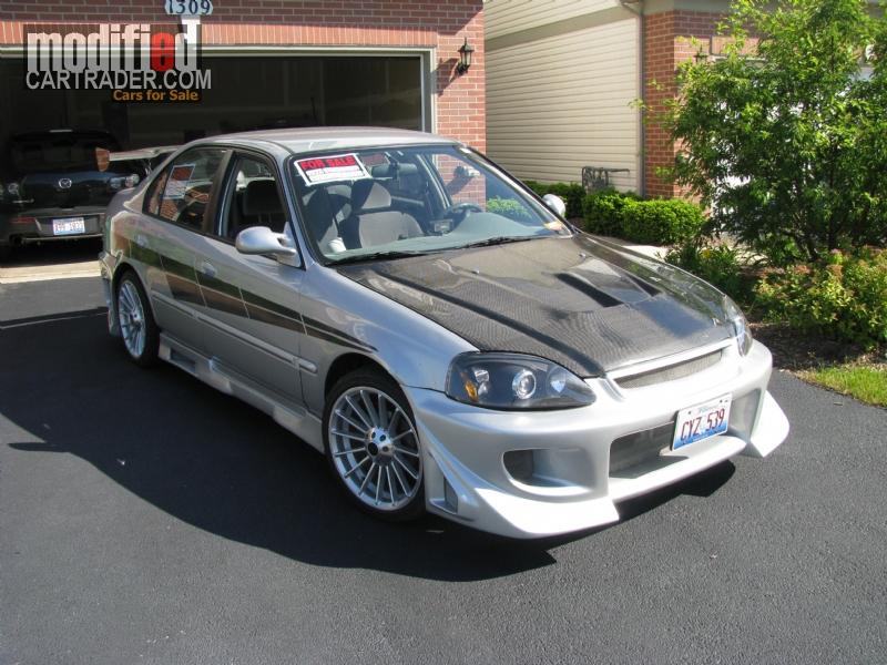 2000 Honda Heavily Modified EVERYTHING [Civic]