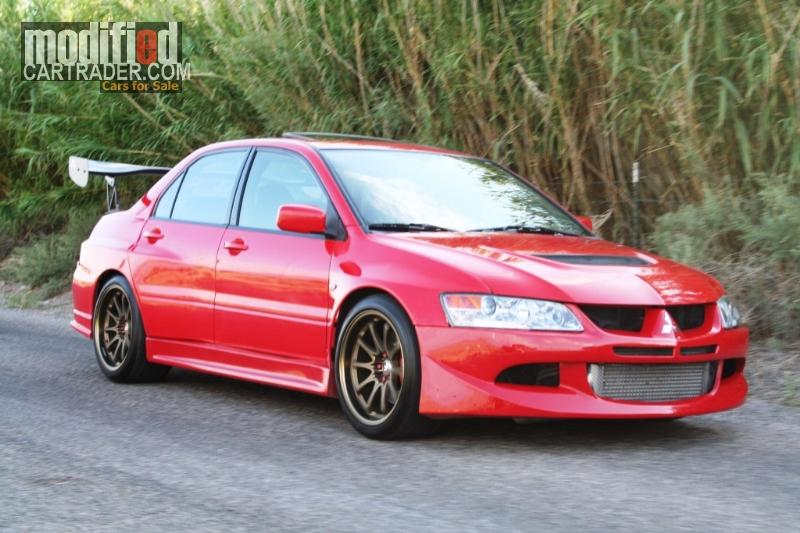 2003 Mitsubishi Lancer EVOMitsubishi Lancer Evo 2003