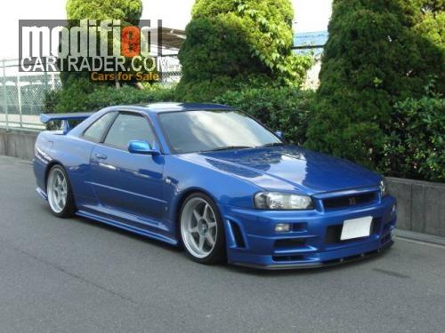 1999 Nissan GTR [Skyline] R34 ...