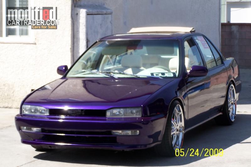 Honda accord 2000 modified