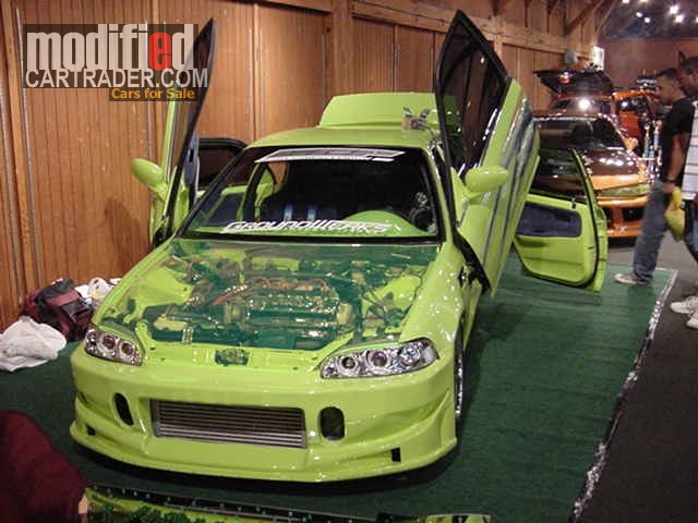 1995 Honda Fast and Furious Movie car [Civic]