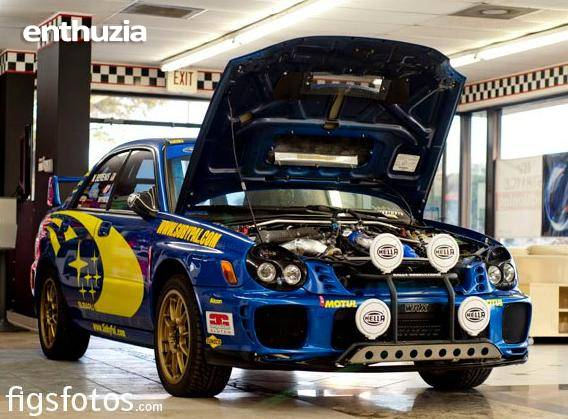 Subaru Impreza Wrx 2002 Rally