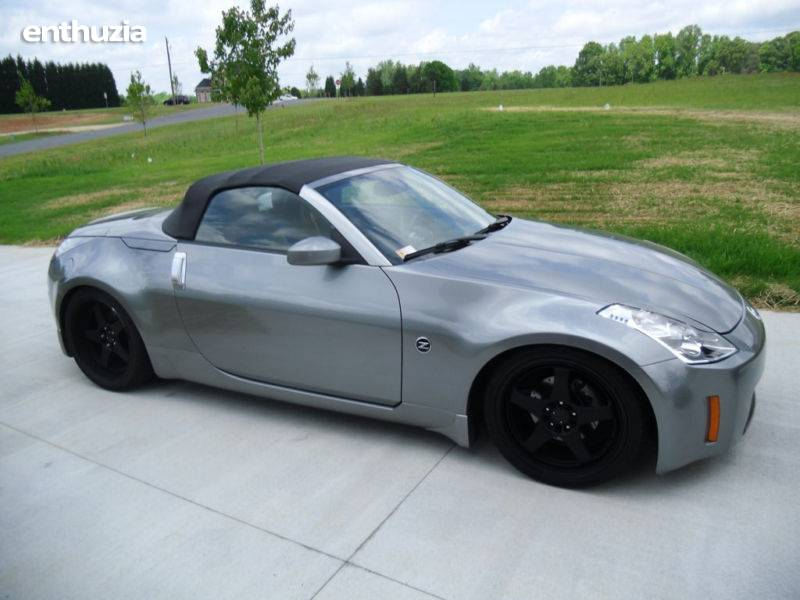 photos 2004 nissan turbo convertible 350z touring roadster for sale. Black Bedroom Furniture Sets. Home Design Ideas