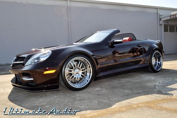 Custom sl500 car interior design for Custom mercedes benz for sale