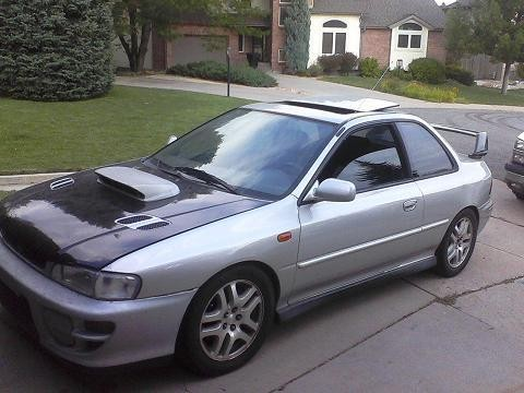 photos 2000 subaru rsti impreza for sale. Black Bedroom Furniture Sets. Home Design Ideas