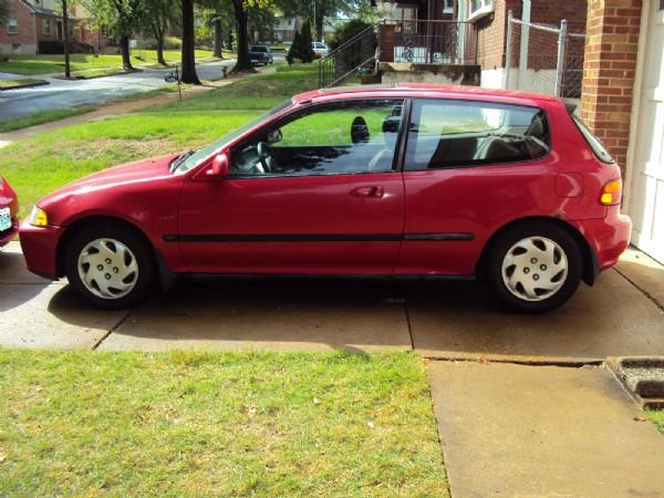 1995 Honda Civic Si Civic Si Hatchback