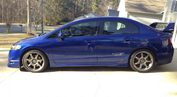 2014 honda civic mugen si sedan for sale autos post. Black Bedroom Furniture Sets. Home Design Ideas
