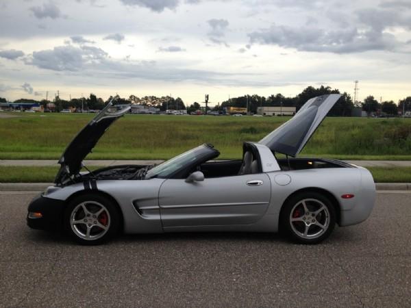 1998 Chevrolet Corvette 50th anniversary