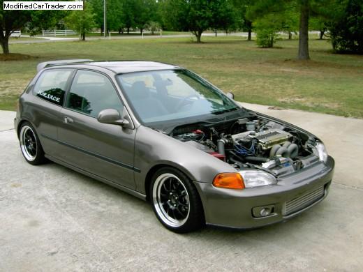 1993 Honda Civic Hatch For Sale Guyton Georgia