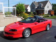 1995 chevrolet convertible camaro z28 for sale levis qu bec. Black Bedroom Furniture Sets. Home Design Ideas