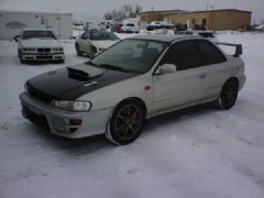 2000 subaru rsti impreza for sale denver colorado. Black Bedroom Furniture Sets. Home Design Ideas