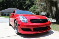 infiniti rev   coupe sport package  sale