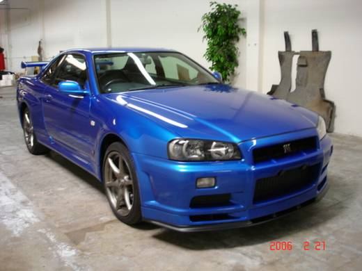 nissan r34 for sale in california autos post. Black Bedroom Furniture Sets. Home Design Ideas