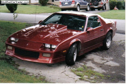 1989 chevrolet camaro rs for sale altoona pennsylvania. Black Bedroom Furniture Sets. Home Design Ideas