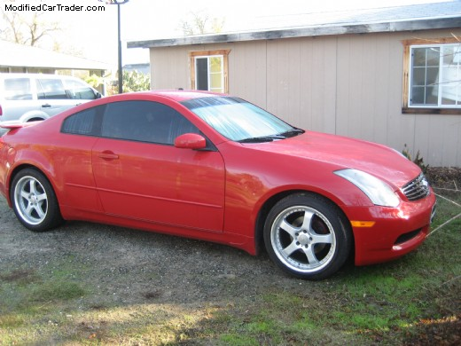 2004 infiniti g35 coupe for sale citrus heights california. Black Bedroom Furniture Sets. Home Design Ideas