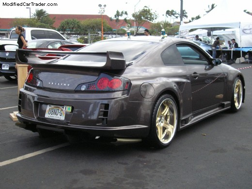 2003 infiniti top secret g35 coupe for sale kihei hawaii. Black Bedroom Furniture Sets. Home Design Ideas