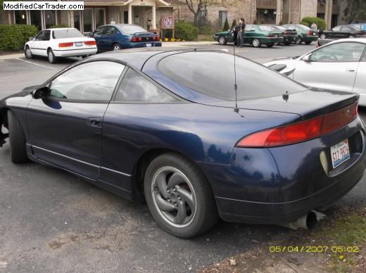 1995 mitsubishi eclipse gst for sale downers grove illinois. Black Bedroom Furniture Sets. Home Design Ideas