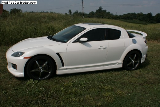 2007 mazda rx 8 turbo for sale aqua pennsylvania. Black Bedroom Furniture Sets. Home Design Ideas