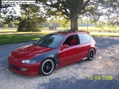 1993 Honda Civic hatchback For Sale | Scottsboro Alabama