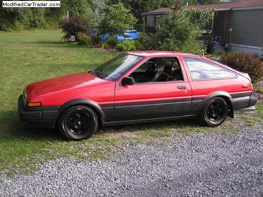 1986 Toyota Corolla Sr5 For Sale Jersey Shore Pennsylvania