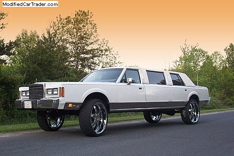 1989 Lincoln Town Car Limousine For Sale Washington District Of Columbia