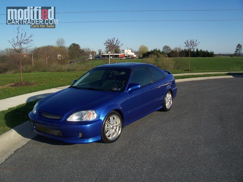 2000 Honda Civic Si For Sale Harrisburg Pennsylvania