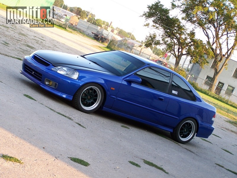 Honda Civic Si 2000 Blue For Sale