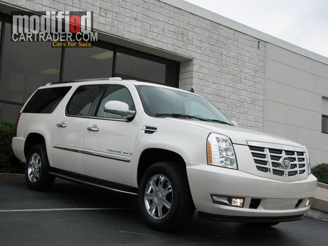 2007 cadillac escalade esv white diamond for sale fort valley. Cars Review. Best American Auto & Cars Review