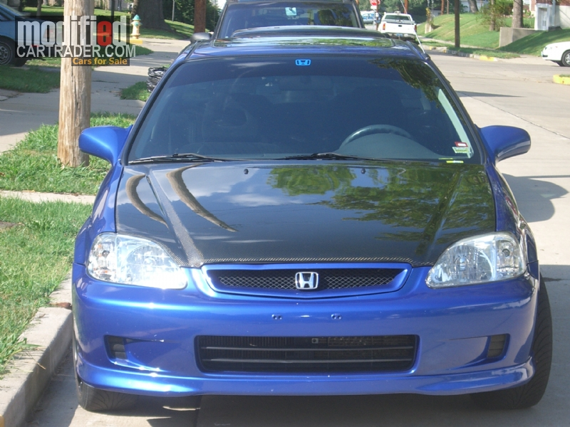 1999 honda civic si civic si for sale black walnut missouri. Black Bedroom Furniture Sets. Home Design Ideas