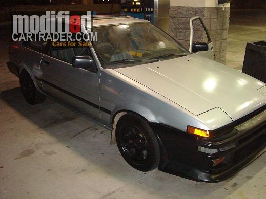 1986 Toyota Corolla GTS AE86