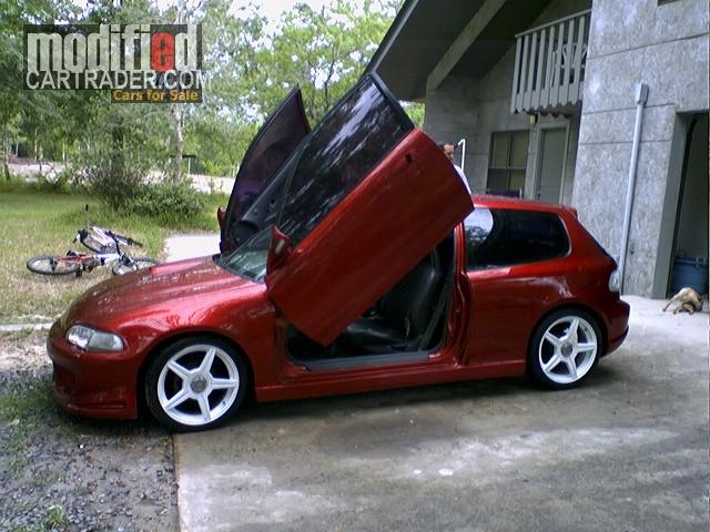 1992 Honda custom hatch hatchback crx Civic hatchback For Sale