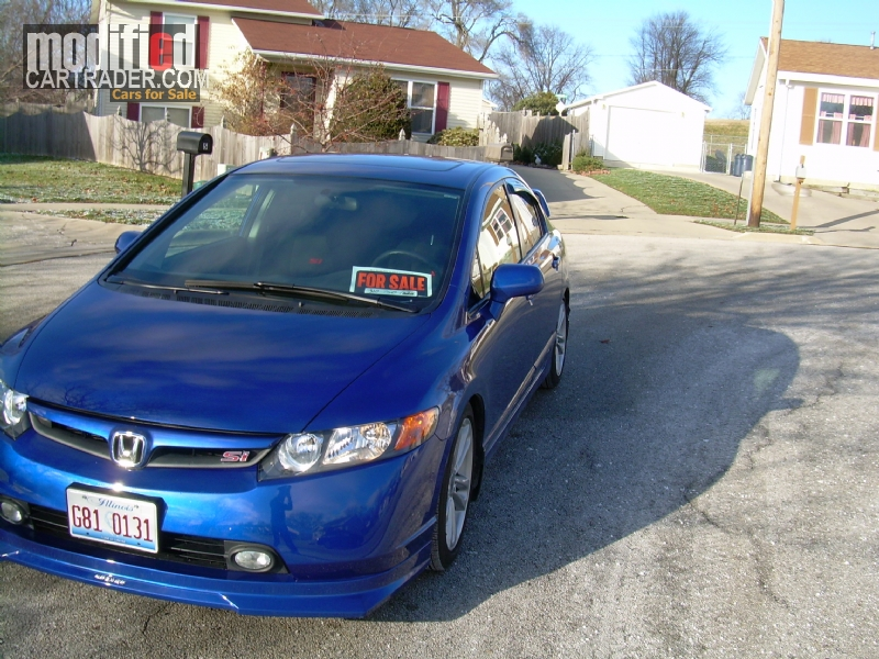honda civic si sedan 2008 for sale. Black Bedroom Furniture Sets. Home Design Ideas
