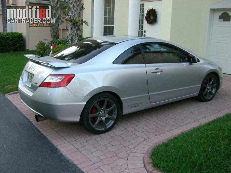 2006 honda turbocharged civic si for sale boca raton. Black Bedroom Furniture Sets. Home Design Ideas