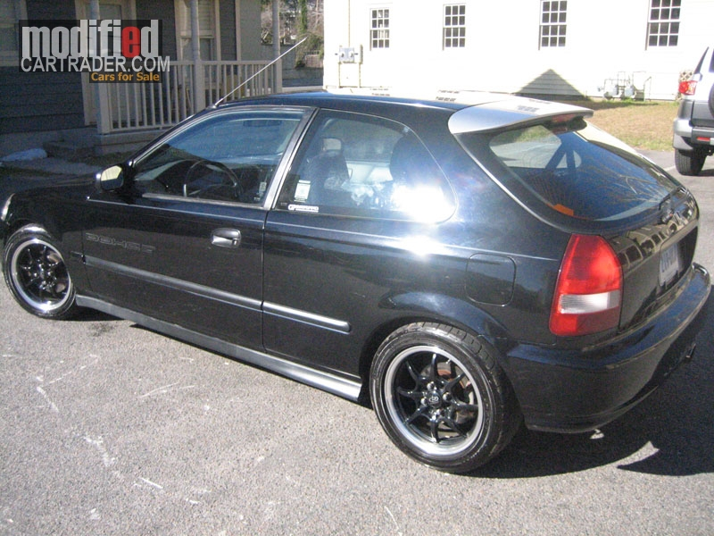 1999 Honda Hatchback Civic Dx For Sale Savannah Georgia