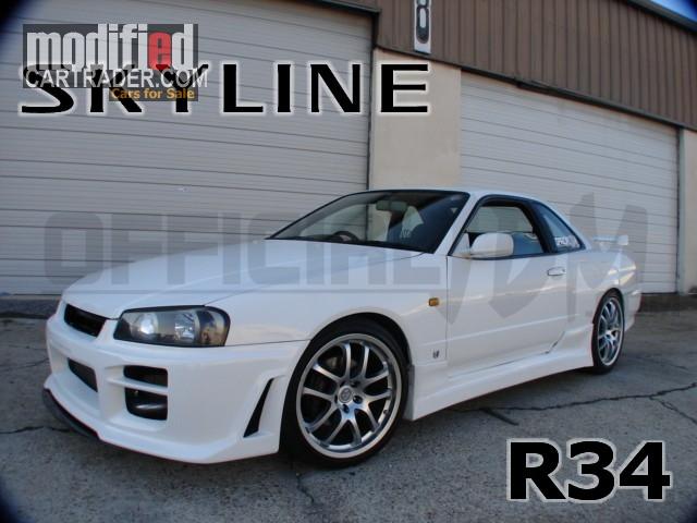 1999 Nissan Skyline Gt T Skyline R34 Gtr Gtt For Sale