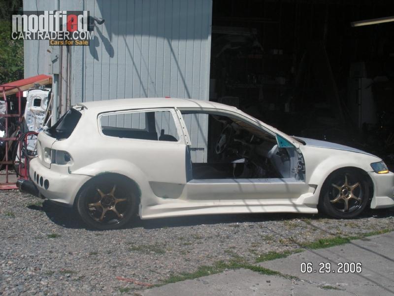 1992 Honda rwd mr 2+2 eg civic [Civic] rwd mr 2+2 For Sale | Parkland Washington