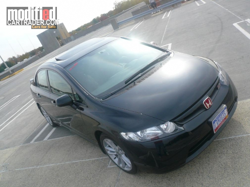 2007 honda civic si for sale bethesda maryland. Black Bedroom Furniture Sets. Home Design Ideas
