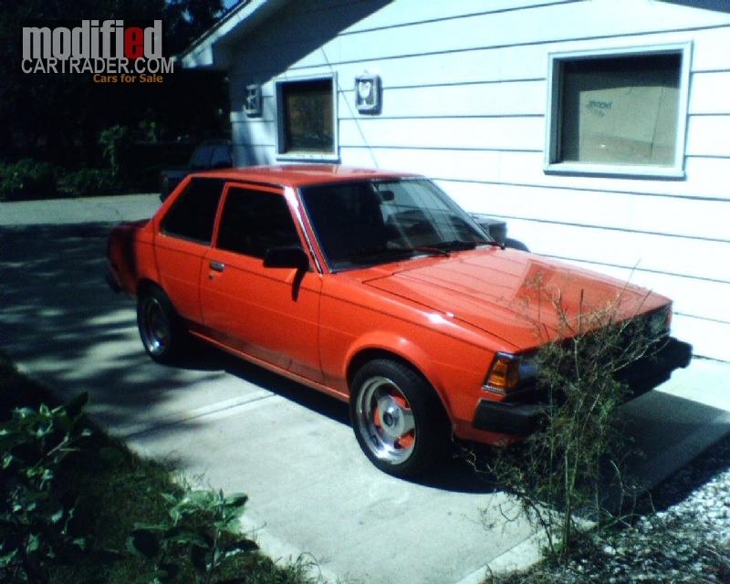 1982 toyota corolla for sale countryside illinois. Black Bedroom Furniture Sets. Home Design Ideas