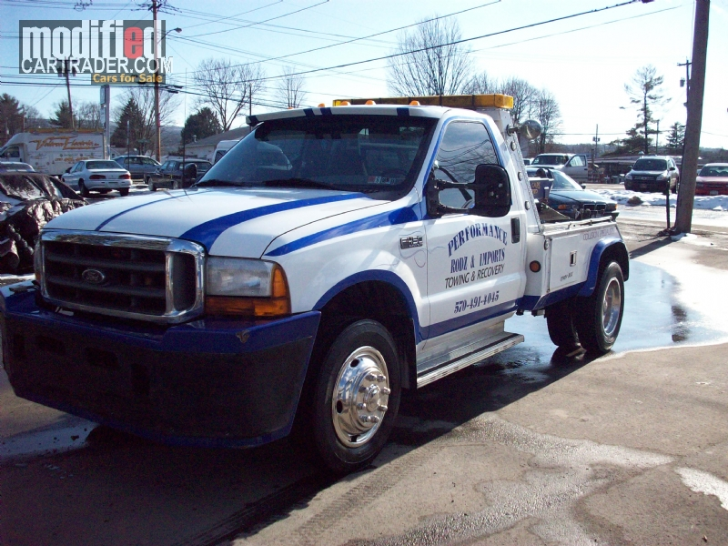Ford F Wrecker Tow Truck Pickup Other Tow Truck For Sale Matamoras Pennsylvania