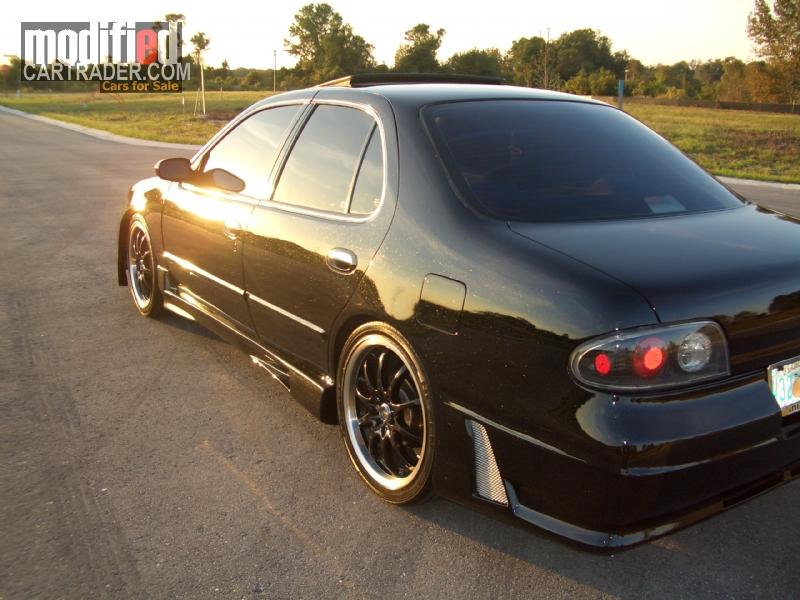 """1996 Nissan """"Black On Black"""" [Altima] GXE For Sale ..."""