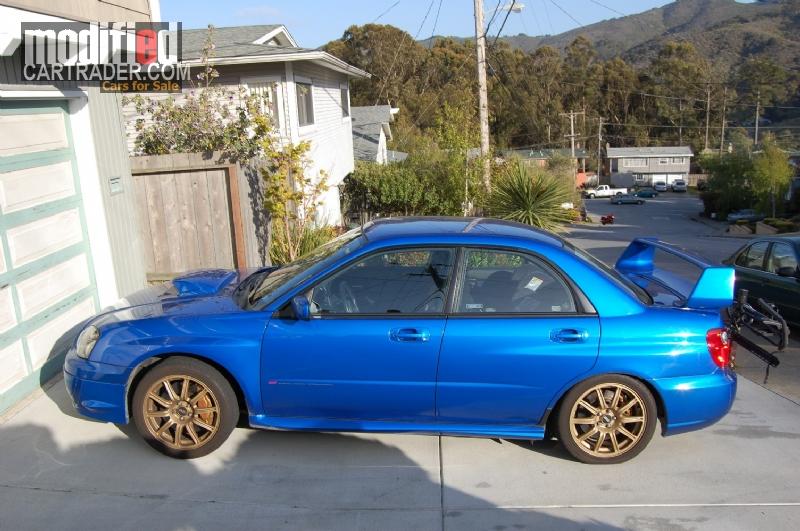 2004 Subaru STi [Impreza STi] Imprezza WRX For Sale | Pacifica ...
