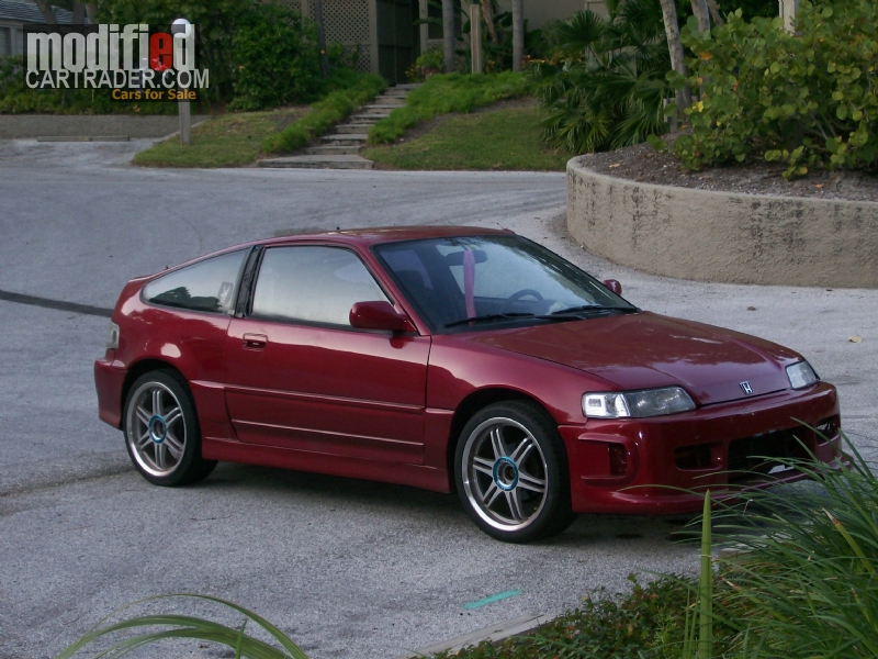 1991 honda crx dx for sale clearwater florida. Black Bedroom Furniture Sets. Home Design Ideas