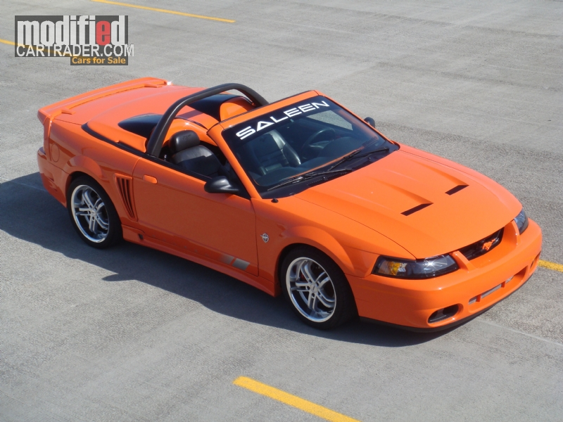 1999 Ford S281 SALEEN COBRA CONVERTIBLE Mustang GT For Sale