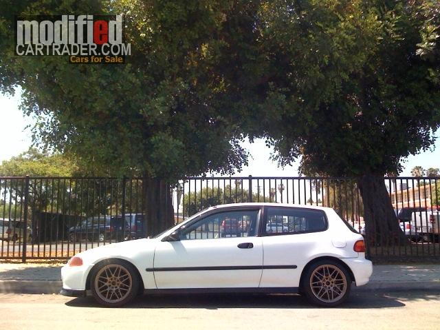 1992 Honda hatchback eg6 [Civic] dx For Sale | Fullerton California
