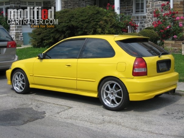 1996 honda jdm sir ii civic hatchback for sale bala pennsylvania. Black Bedroom Furniture Sets. Home Design Ideas