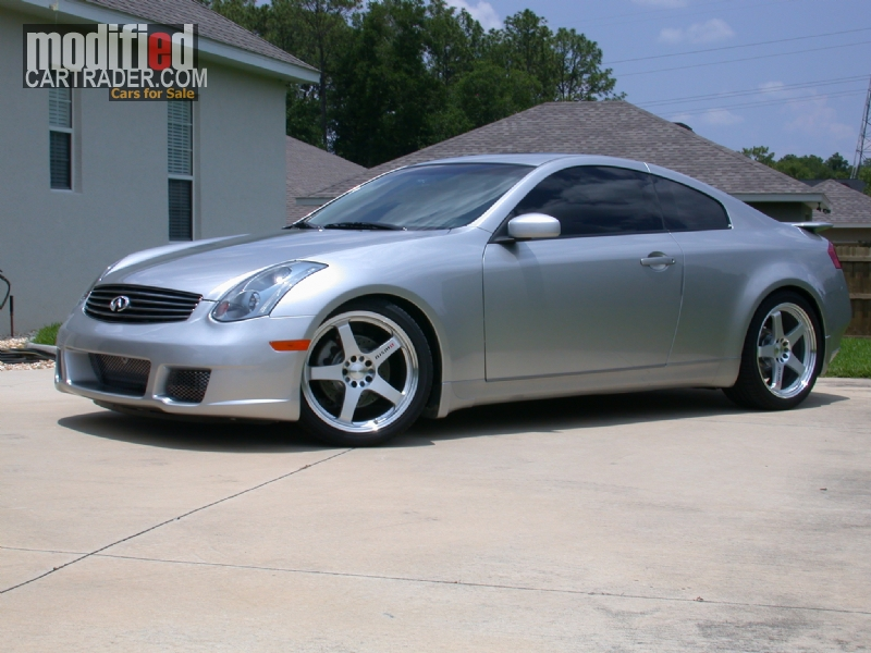 2005 infiniti g35 aps tt g35 twin turbo for sale ocala. Black Bedroom Furniture Sets. Home Design Ideas