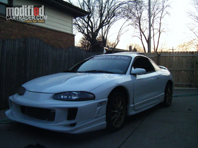 1995 mitsubishi eclipse gs t for sale chicago heights illinois. Black Bedroom Furniture Sets. Home Design Ideas