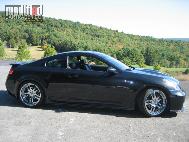 2005 infiniti custm show car g35 coupe for sale plainfield new hampshire. Black Bedroom Furniture Sets. Home Design Ideas