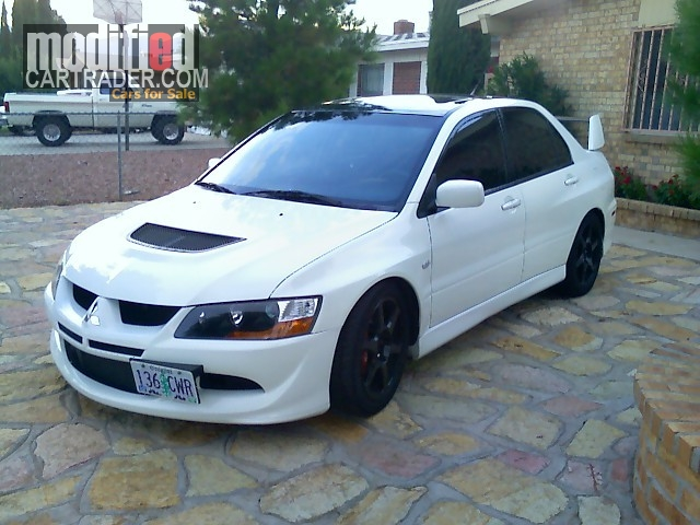 2004 mitsubishi lancer evo ssl for sale el paso texas. Black Bedroom Furniture Sets. Home Design Ideas